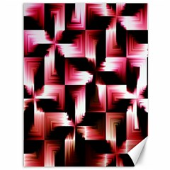 Red And Pink Abstract Background Canvas 36  X 48