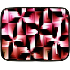 Red And Pink Abstract Background Fleece Blanket (mini)