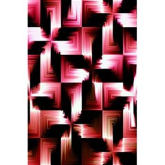 Red And Pink Abstract Background 5 5  X 8 5  Notebooks