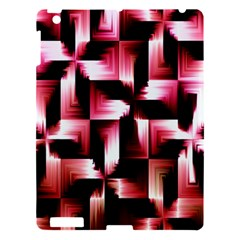 Red And Pink Abstract Background Apple iPad 3/4 Hardshell Case