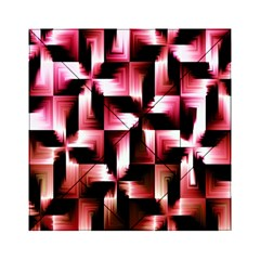 Red And Pink Abstract Background Acrylic Tangram Puzzle (6  X 6 )