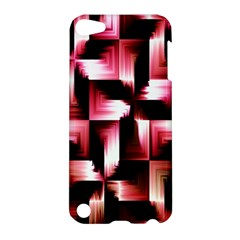 Red And Pink Abstract Background Apple iPod Touch 5 Hardshell Case