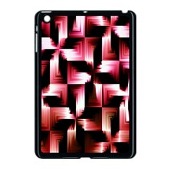 Red And Pink Abstract Background Apple iPad Mini Case (Black)