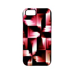 Red And Pink Abstract Background Apple iPhone 5 Classic Hardshell Case (PC+Silicone)