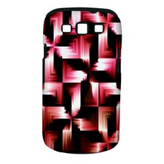 Red And Pink Abstract Background Samsung Galaxy S III Classic Hardshell Case (PC+Silicone)