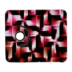 Red And Pink Abstract Background Galaxy S3 (Flip/Folio)