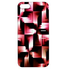 Red And Pink Abstract Background Apple Iphone 5 Hardshell Case With Stand