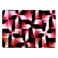 Red And Pink Abstract Background Samsung Galaxy Tab 10.1  P7500 Flip Case