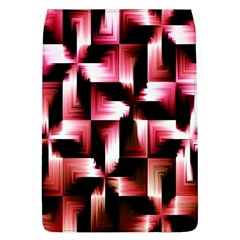 Red And Pink Abstract Background Flap Covers (L)