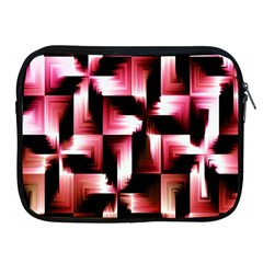 Red And Pink Abstract Background Apple iPad 2/3/4 Zipper Cases