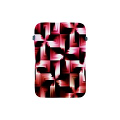 Red And Pink Abstract Background Apple Ipad Mini Protective Soft Cases