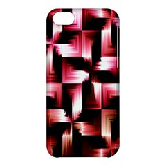 Red And Pink Abstract Background Apple iPhone 5C Hardshell Case