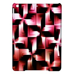 Red And Pink Abstract Background iPad Air Hardshell Cases