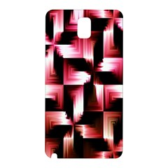 Red And Pink Abstract Background Samsung Galaxy Note 3 N9005 Hardshell Back Case