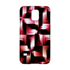 Red And Pink Abstract Background Samsung Galaxy S5 Hardshell Case