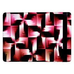 Red And Pink Abstract Background Samsung Galaxy Tab Pro 12.2  Flip Case