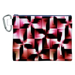 Red And Pink Abstract Background Canvas Cosmetic Bag (XXL)