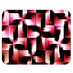 Red And Pink Abstract Background Double Sided Flano Blanket (medium)