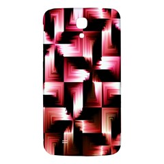 Red And Pink Abstract Background Samsung Galaxy Mega I9200 Hardshell Back Case