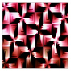 Red And Pink Abstract Background Large Satin Scarf (Square)
