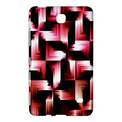 Red And Pink Abstract Background Samsung Galaxy Tab 4 (7 ) Hardshell Case