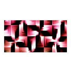 Red And Pink Abstract Background Satin Wrap