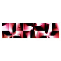 Red And Pink Abstract Background Satin Scarf (Oblong)