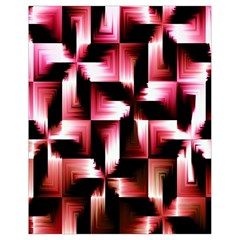Red And Pink Abstract Background Drawstring Bag (Small)