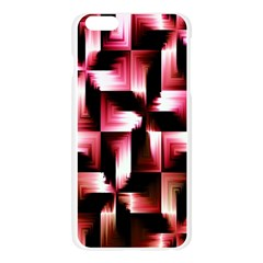 Red And Pink Abstract Background Apple Seamless iPhone 6 Plus/6S Plus Case (Transparent)