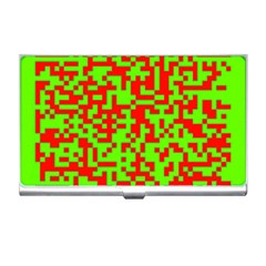 Colorful Qr Code Digital Computer Graphic Business Card Holders