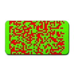 Colorful Qr Code Digital Computer Graphic Medium Bar Mats