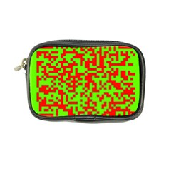 Colorful Qr Code Digital Computer Graphic Coin Purse