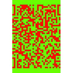 Colorful Qr Code Digital Computer Graphic 5 5  X 8 5  Notebooks