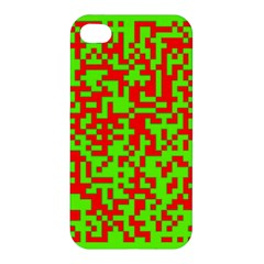 Colorful Qr Code Digital Computer Graphic Apple iPhone 4/4S Hardshell Case