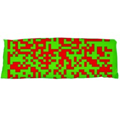 Colorful Qr Code Digital Computer Graphic Body Pillow Case Dakimakura (Two Sides)