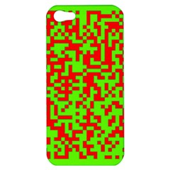 Colorful Qr Code Digital Computer Graphic Apple iPhone 5 Hardshell Case