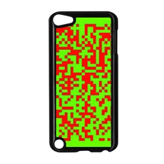 Colorful Qr Code Digital Computer Graphic Apple Ipod Touch 5 Case (black)