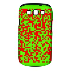 Colorful Qr Code Digital Computer Graphic Samsung Galaxy S Iii Classic Hardshell Case (pc+silicone)