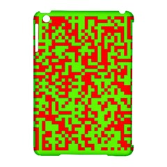 Colorful Qr Code Digital Computer Graphic Apple iPad Mini Hardshell Case (Compatible with Smart Cover)