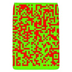 Colorful Qr Code Digital Computer Graphic Flap Covers (S)