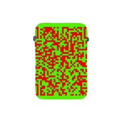 Colorful Qr Code Digital Computer Graphic Apple iPad Mini Protective Soft Cases