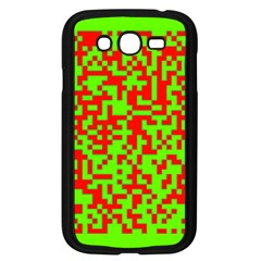 Colorful Qr Code Digital Computer Graphic Samsung Galaxy Grand DUOS I9082 Case (Black)