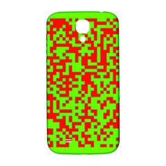 Colorful Qr Code Digital Computer Graphic Samsung Galaxy S4 I9500/I9505  Hardshell Back Case