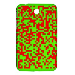 Colorful Qr Code Digital Computer Graphic Samsung Galaxy Tab 3 (7 ) P3200 Hardshell Case