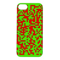 Colorful Qr Code Digital Computer Graphic Apple iPhone 5S/ SE Hardshell Case