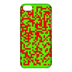 Colorful Qr Code Digital Computer Graphic Apple iPhone 5C Hardshell Case
