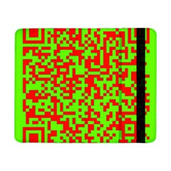Colorful Qr Code Digital Computer Graphic Samsung Galaxy Tab Pro 8.4  Flip Case