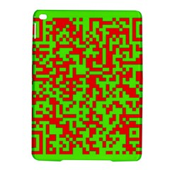 Colorful Qr Code Digital Computer Graphic iPad Air 2 Hardshell Cases