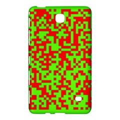 Colorful Qr Code Digital Computer Graphic Samsung Galaxy Tab 4 (7 ) Hardshell Case