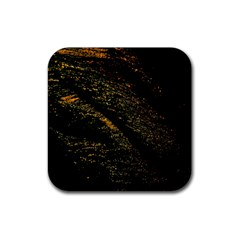 Abstract Background Rubber Square Coaster (4 Pack)
